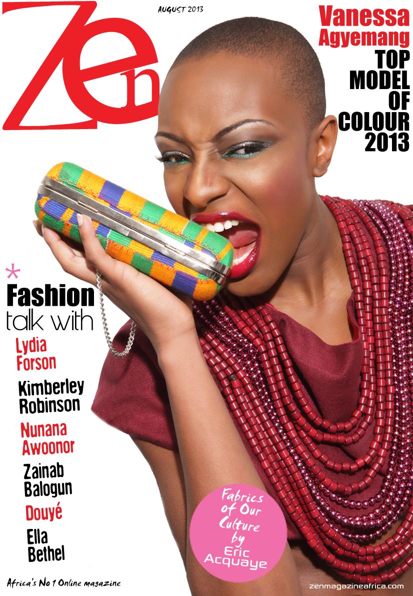 Vanessa Agyemang covers Zen Magazine