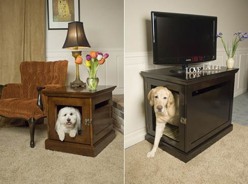 Fabulous And lastly I can ut leave out my four legged friends At DenHaus there is a whole website dedicated to chic pet homes I love the idea of having furniture