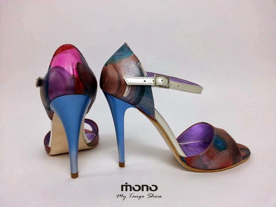 Pantofi tango Mono