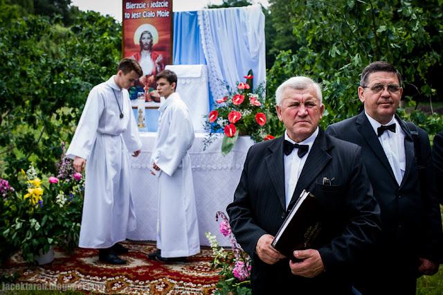 Procesja Bozego Ciala, Krakow, Swoszowice