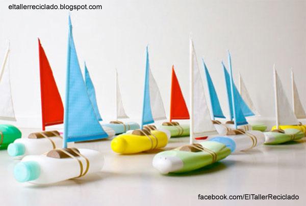 os mostraremos juguetes sencillos que podemos realizar con botes y latas que tenemos por casa