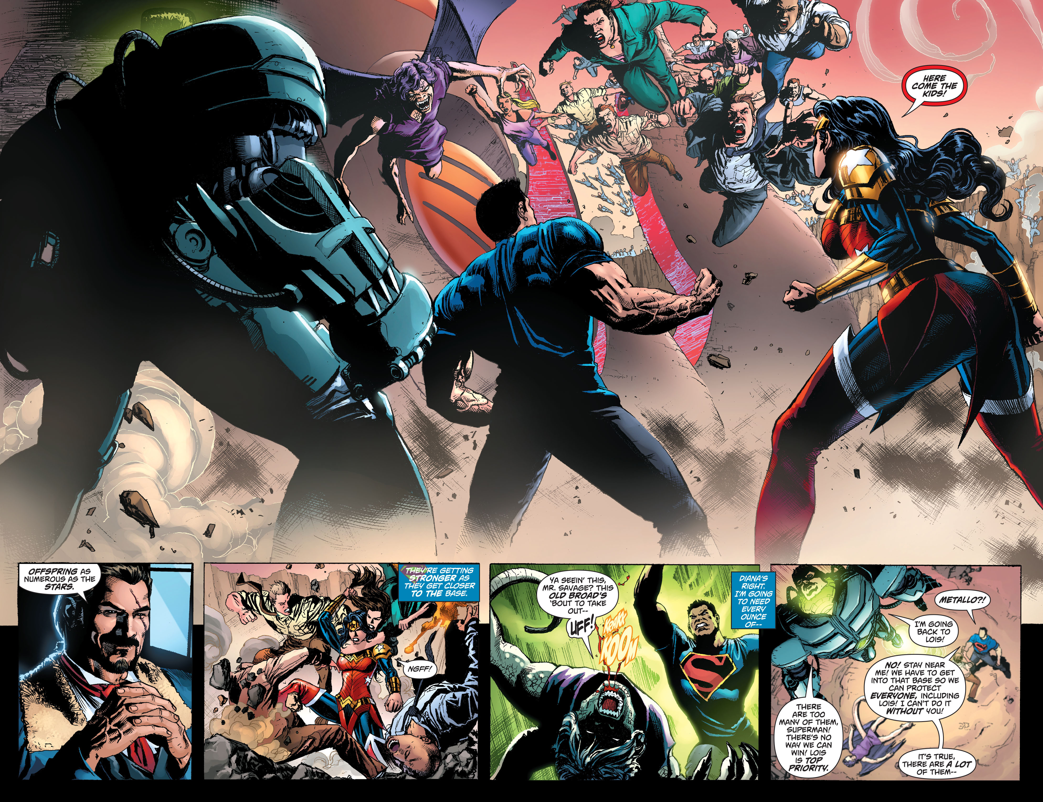 Read online Superman (2011) comic -  Issue #49 - 15