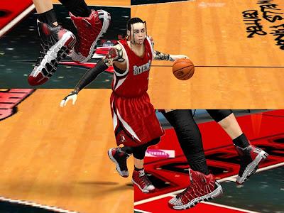 NBA 2K13 Fictional Nike & Adidas Shoes Mods