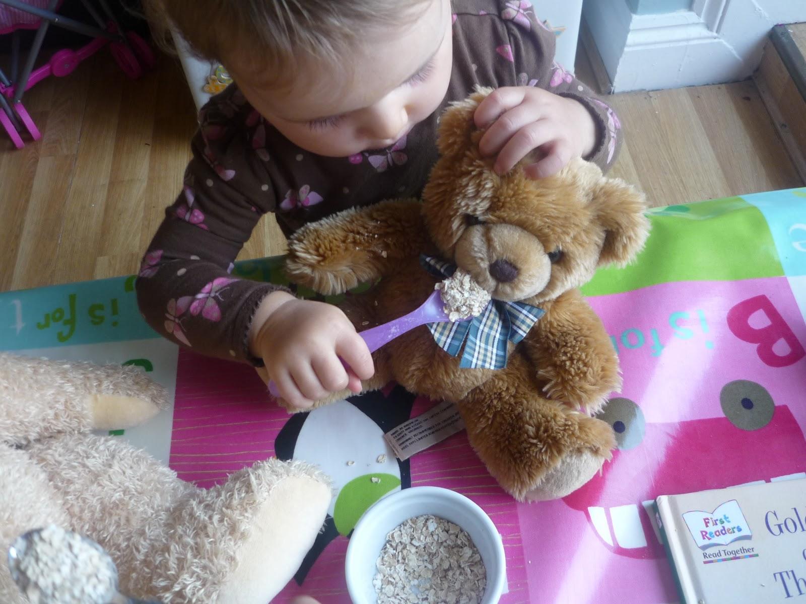 Goldilocks And The Three Bears Dramatic Play The Imagination Tree