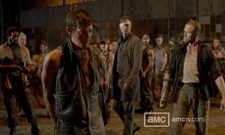 Daryl Merle Merle Knocks Daryl to The