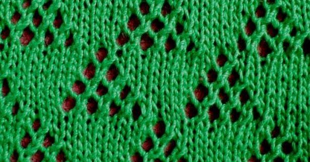 Knitting Instructions M1 : Knitting galore saturday stitch lace triangle
