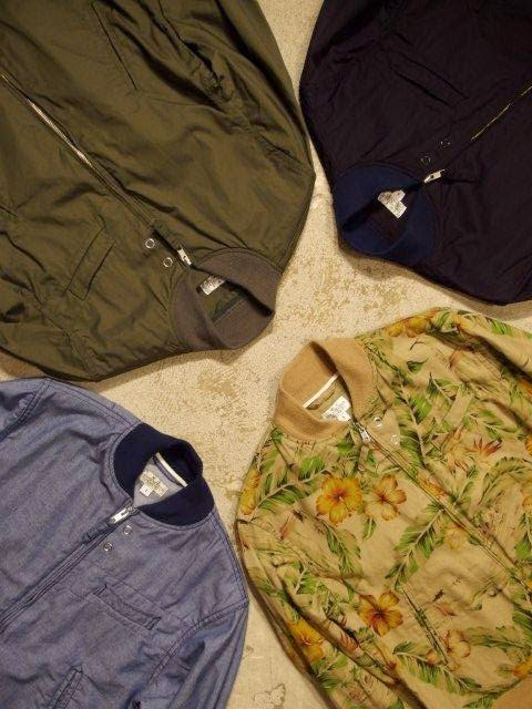 FWK by Engineered Garments Aviator Jacket Spring/Summer 2015 SUNRISE MARKET