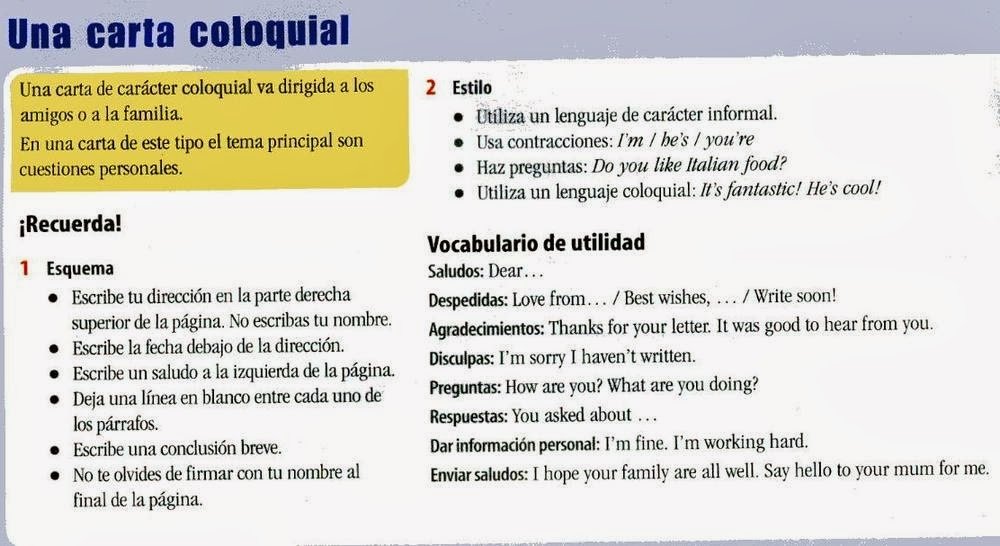 Etiquetas: steps of writing , writing a letter , writing an e-mail