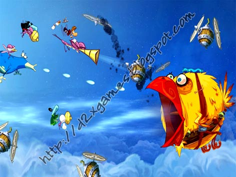 Free Download Games - Rayman Origins