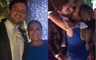 Ela foi ao casamento da filha de uma amiga e ficou com o cara lá. Fotos e um vídeo dos dois aos beijos vazou na net. Guilherme Dornelas Vianna não perdeu tempo e já começou a dar entrevista para falar do assunto.