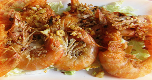 Spicy Crispy Shrimps