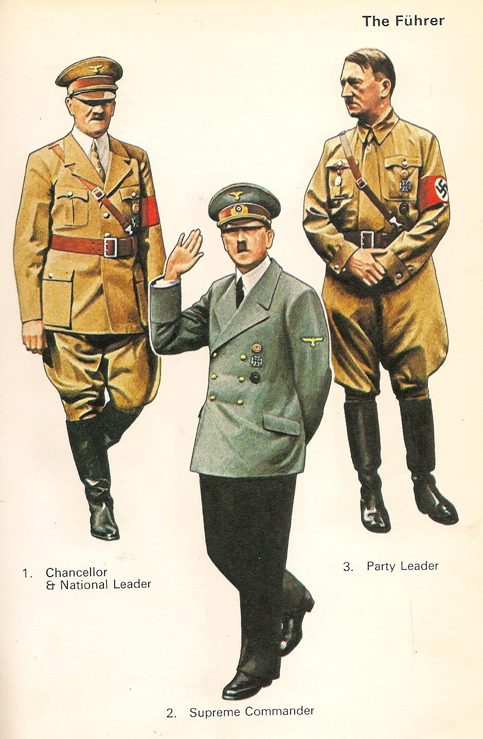 UNIFORMES MILITARES de la II GUERRA MUNDIAL ., ilustraciones de Pierre TURNER.