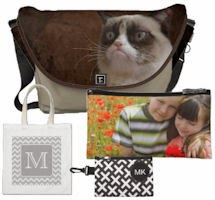 Custom Bags - tote bags, messenger bags, laptop bags, wristlets and more