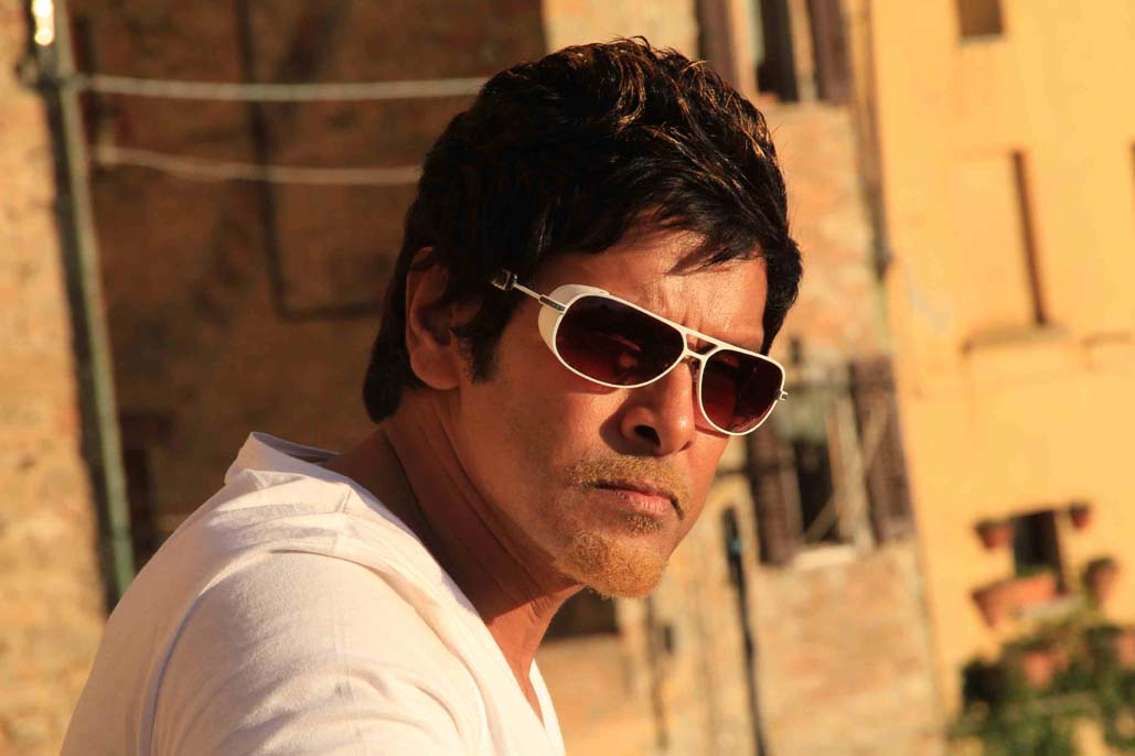 Actor Chiyan Vikram Solo Stills Southcine