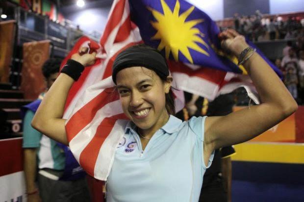 Nicol Juara Kejohanan Skuasy Wanita Dunia, info sukan, berita, skuasy, nicol david juara skuasy kali kelapan