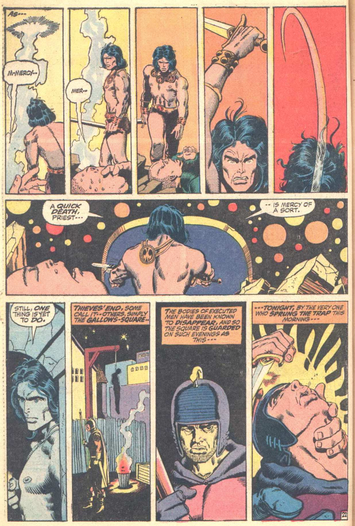 Conan the Barbarian (1970) Issue #10 #22 - English 23