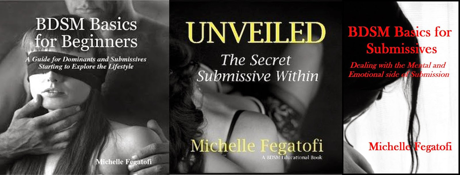 Michelle Fegatofi BDSM Educational Books