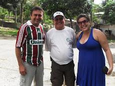 Jandui, Ademar Belizário e Arienne