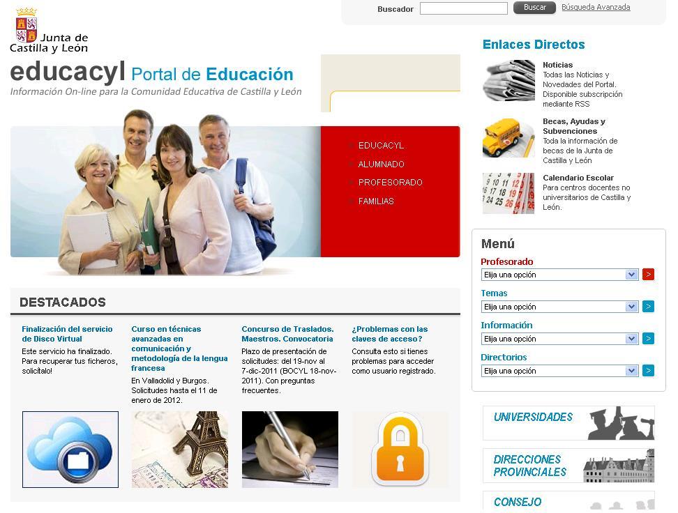 jcyl portal educativo: