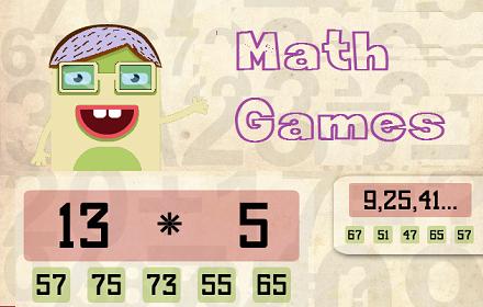 Online Math Games Index