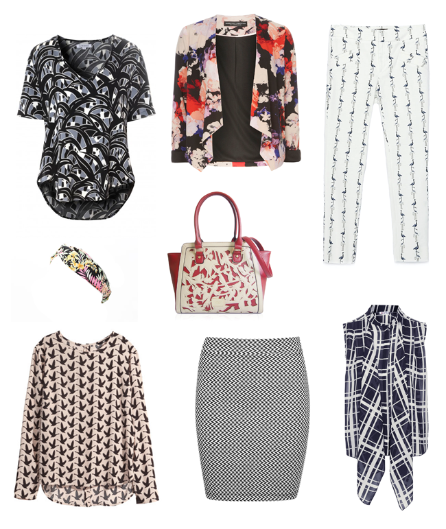 work wear wishlist - printed items