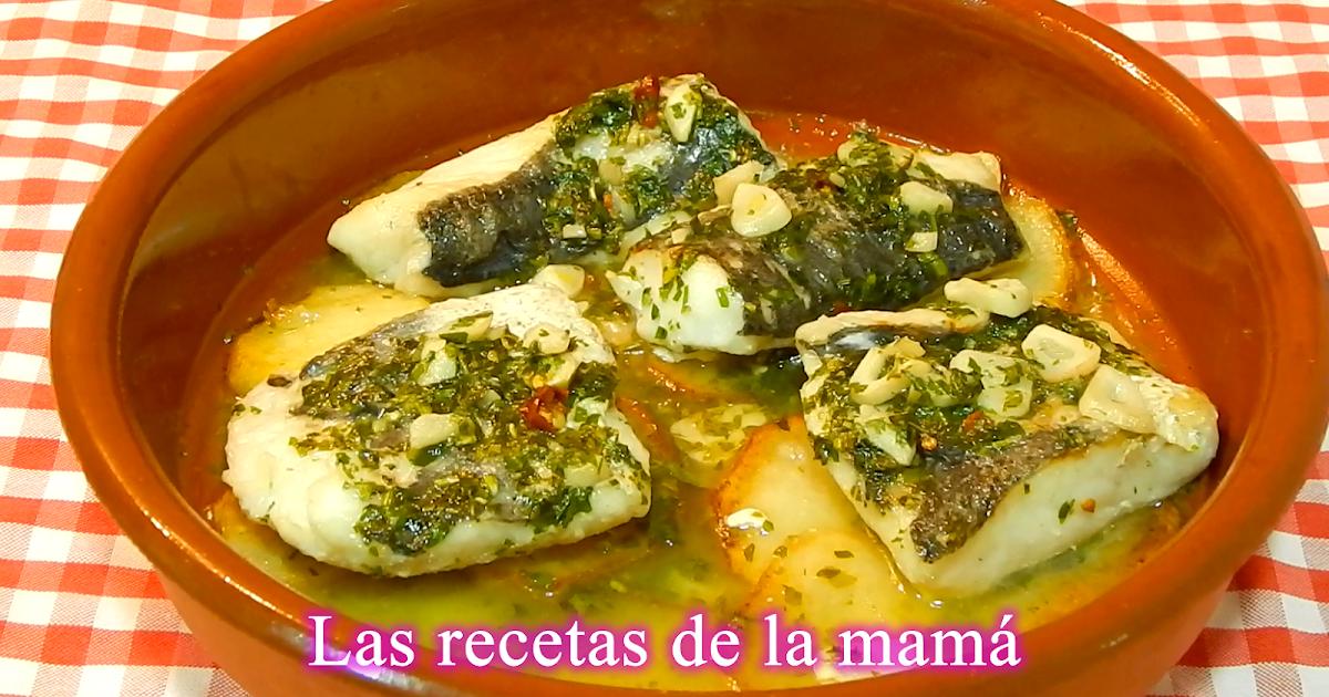 Las recetas de la mam receta f cil de merluza al horno for Merluza al horno facil