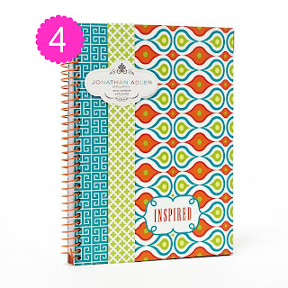 jonathan adler notebook stationary office candy