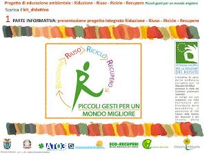 Kit informativo del progetto di educazione ambientale 2013