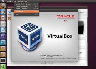 Install VirtualBox 4.1.2 on Ubuntu