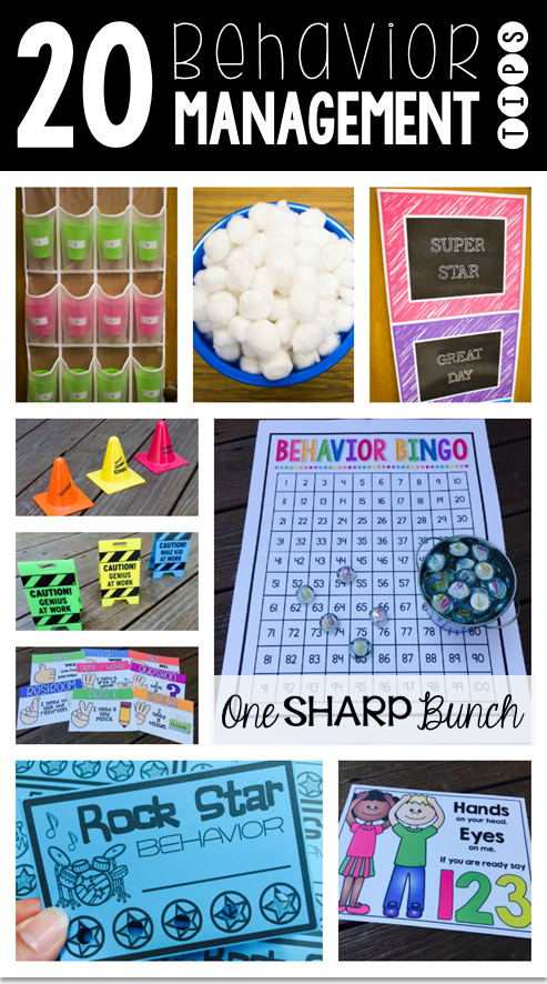 Classroom Management Ideas In Kindergarten ~ Classroom management tips tricks freebies one sharp