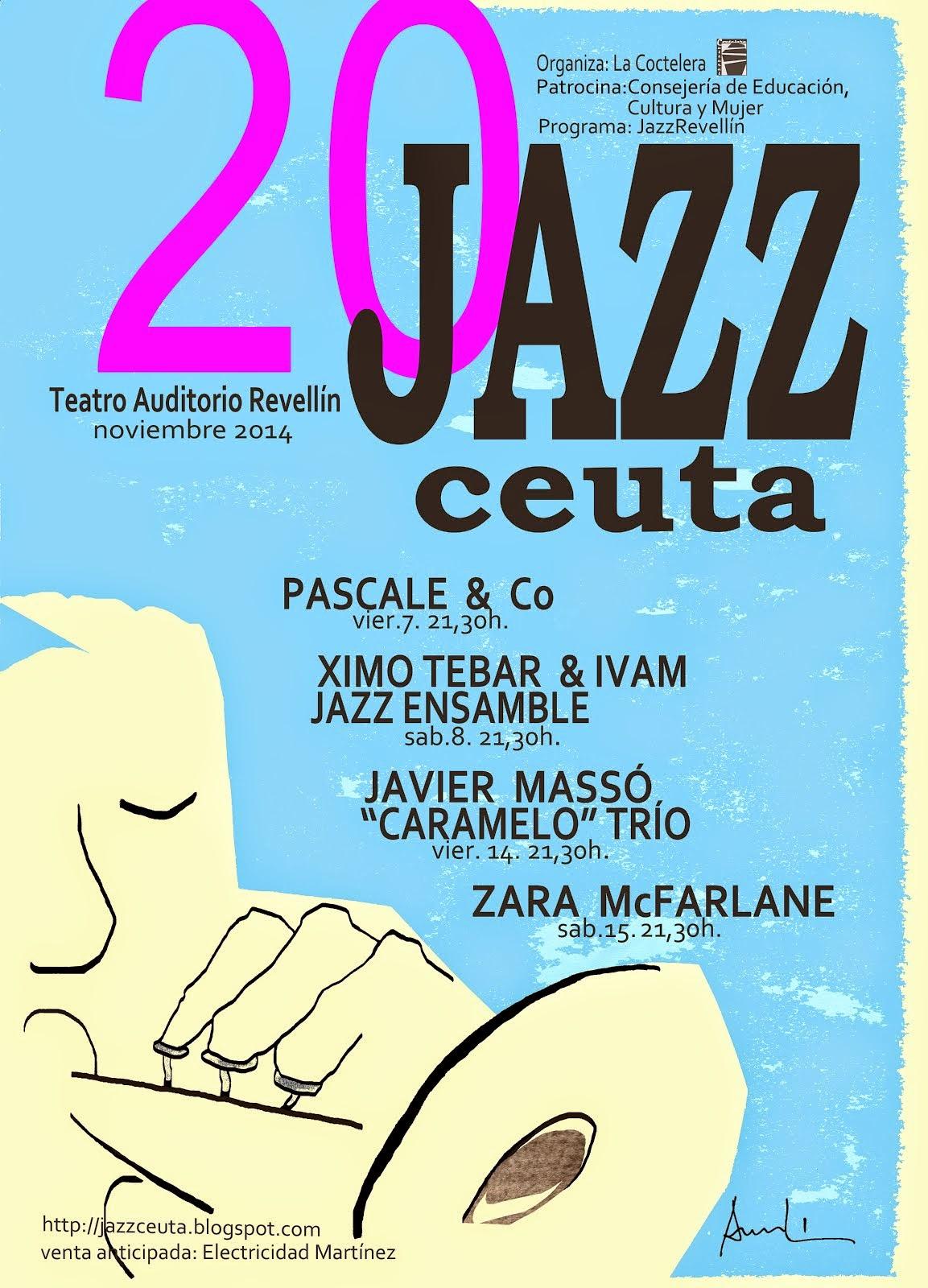 XX FESTIVAL DE JAZZ DE CEUTA