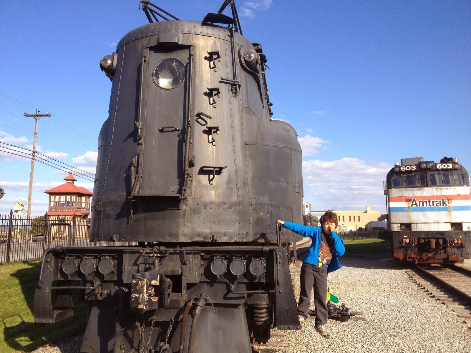 Santa train at strasburg railroad lancaster pa polar express train