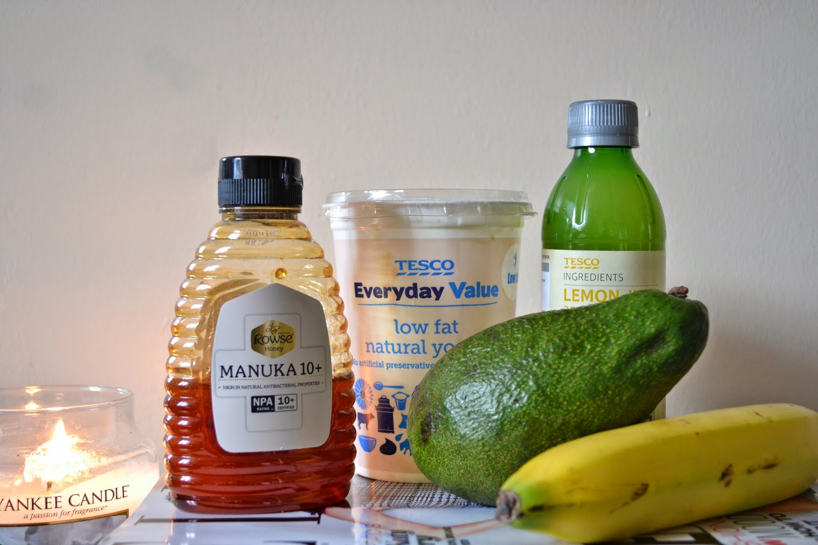 DIY face masks using banana, avocado, honey, lemon & yoghurt - Aspiring Londoner