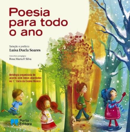 """""""Poesia para todo o ano""""- organização de Luísa Ducla Soares"""
