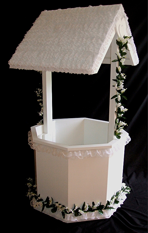 Make Baby Shower Wishing Well http://www.swoonstylehome.com/2010/07/wishing-wells-yay-or-nay.html