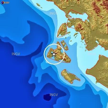 FORTE TERREMOTO IN GRECIA AVVERTITO ANCHE NEL SUD ITALIA