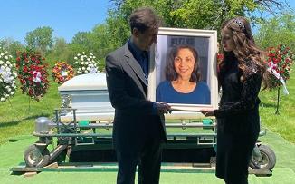 FOTO: Serviciul de înmormântare a Sorinelei Curescu