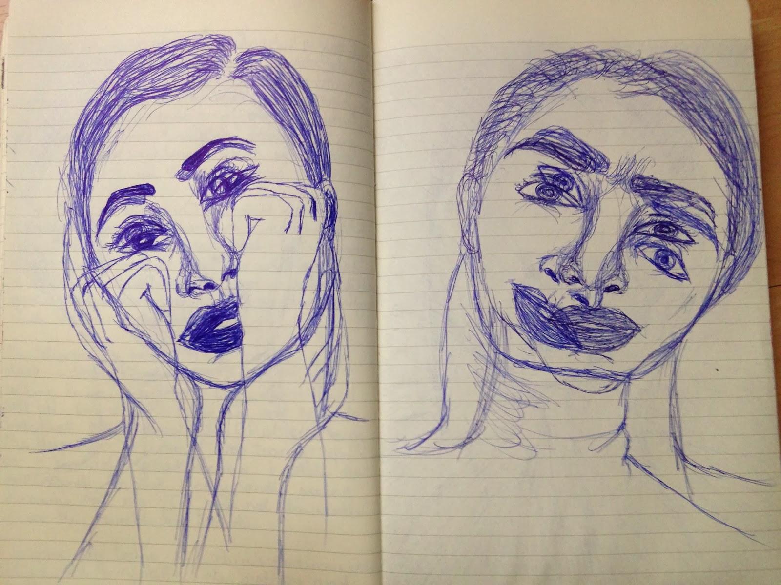 moleskin journal illustrations