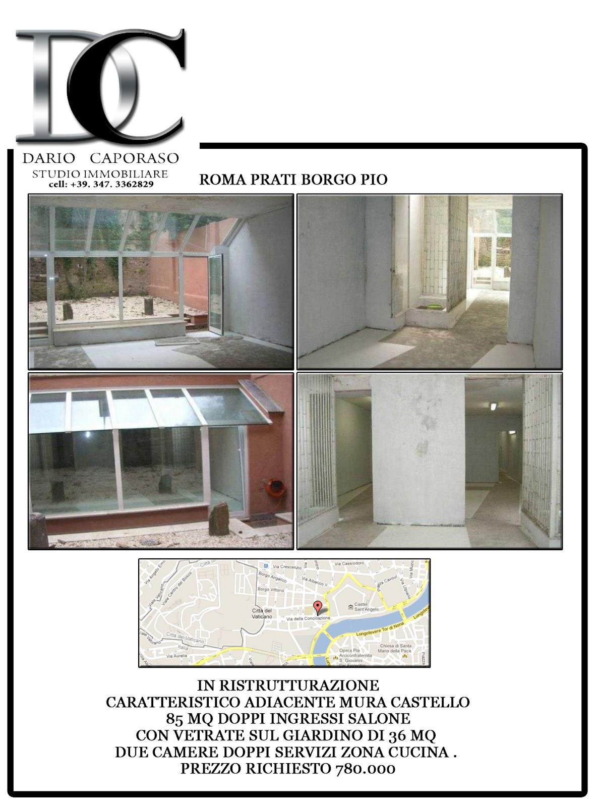 Dc studio immobiliare appartamento roma prati for Studio i m immobiliare milano