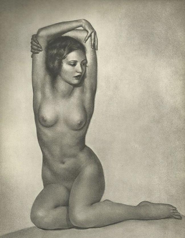 Nude Study, William Mortensen