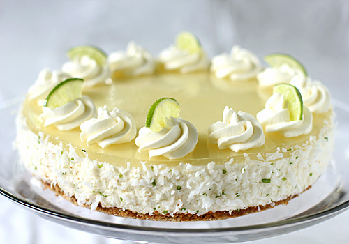 The Galley Gourmet: Margarita Cream Cake