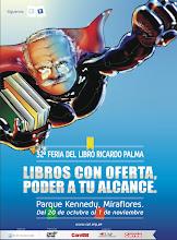 32 Feria del Libros Ricardo Palma 2011
