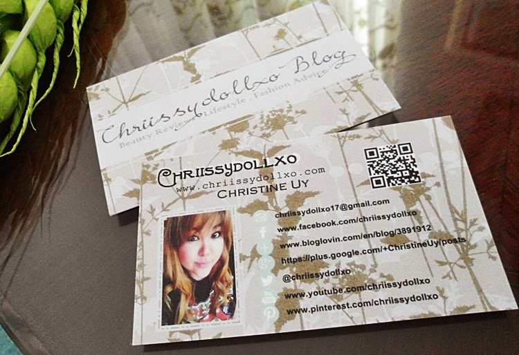 Personal Business Cards For My Blog feat.Vistaprint NZ