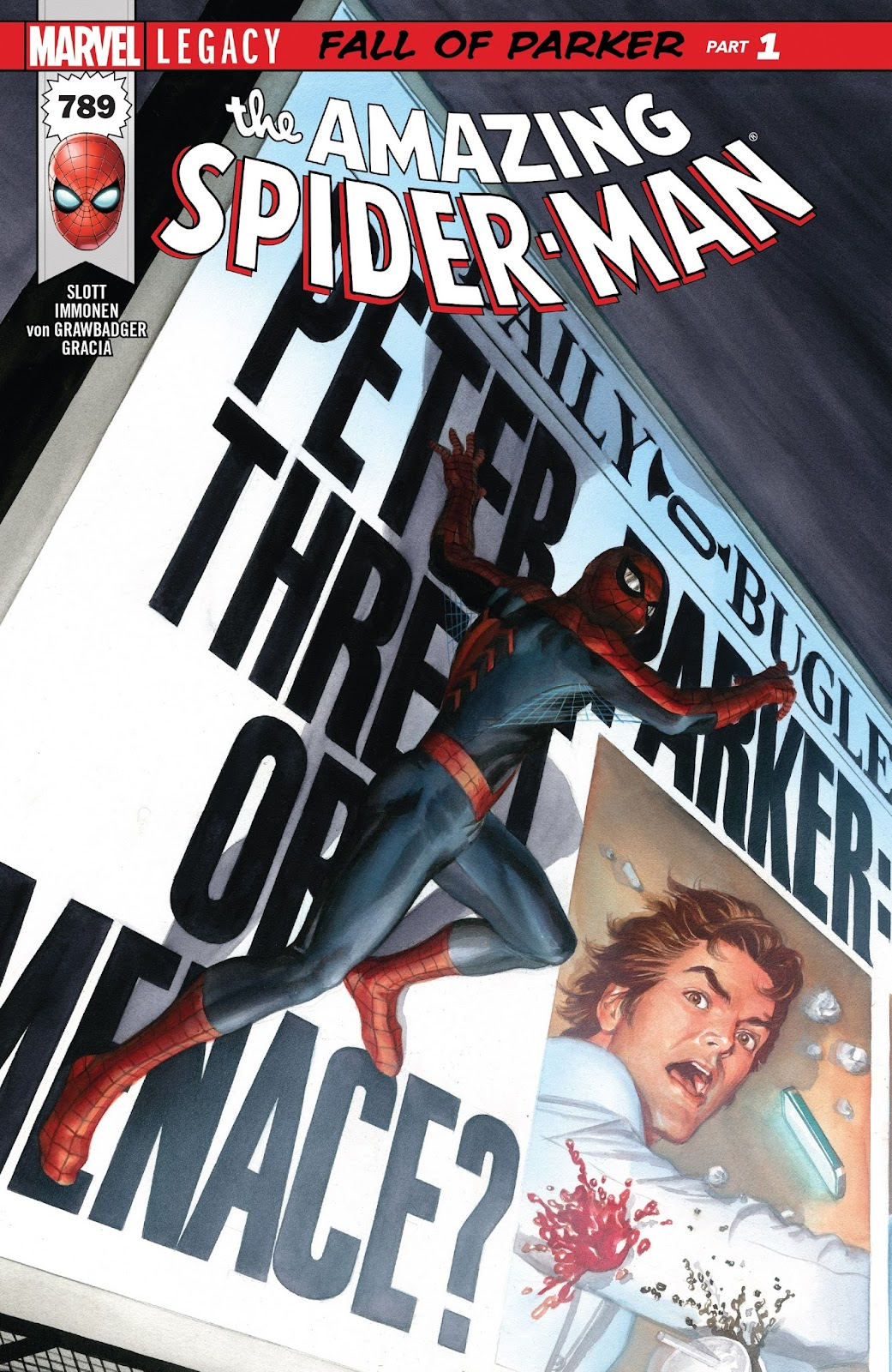 The Amazing Spider-Man (2015) 789 Page 1