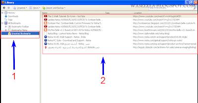 كيف تأخذ نسخه احتياطيه من الملفات المحفوظه على متصفحك