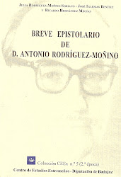 Breve epistolario de D. Antonio Rodríguez-Moñino