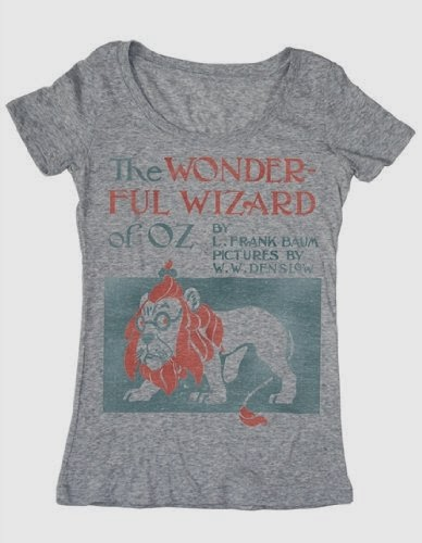 The Wonderful Wizard of Oz t-shirt
