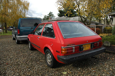Old Parked Cars 1985 Mazda Glc