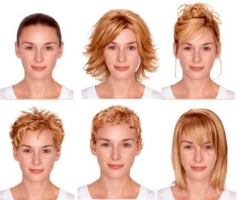 Ideal Hairstyle for Various Face Shape ~ Mode et Style de vie