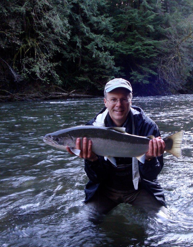 North fork nehalem winter steelhead report water time for Nehalem river fishing